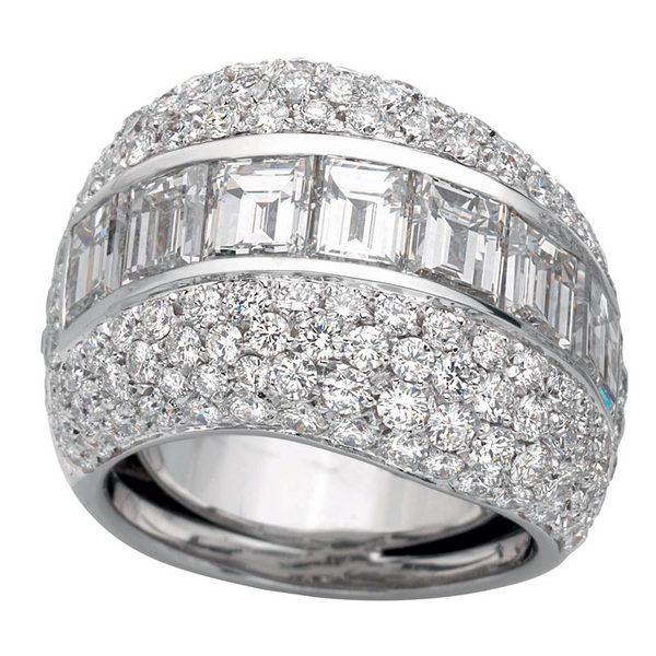 Кольцо Diamonds, Luca Carati