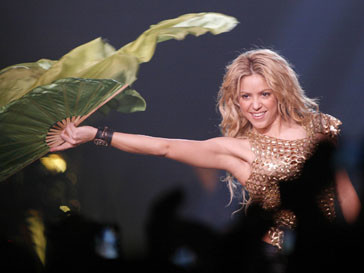 Шакира (Shakira) стала подругой футболиста
