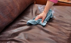 Очищаем клей с поверхности мебели без следов и повреждений