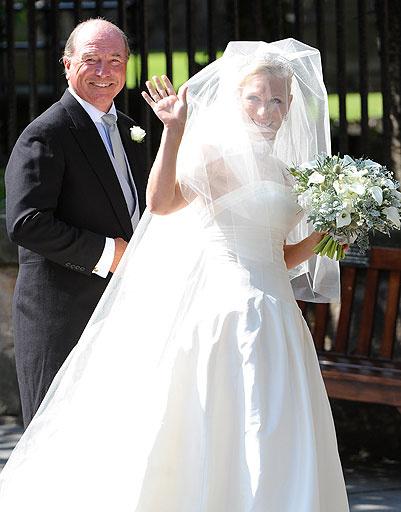 Зара Филлипс (Zara Phillips) с отцом