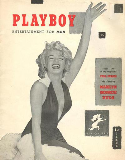 Первая обложка журнала Playboy