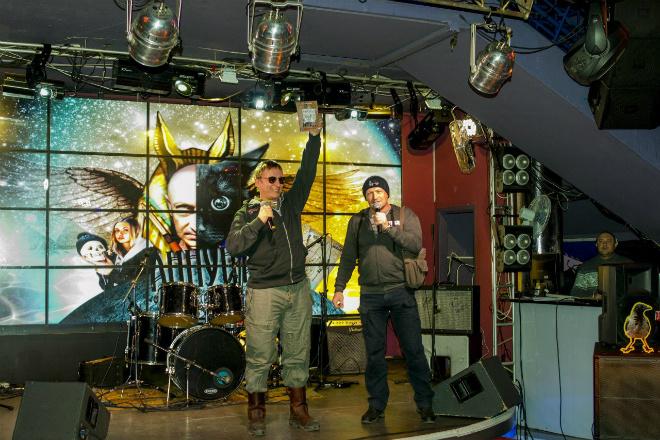 Иван Охлобыстин в Туле на презентации книги «Аннунак. Абрикосовое танго»
