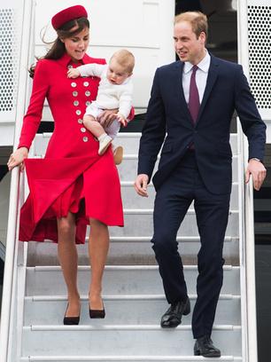 Принц Джордж побывал на первом официальном приеме