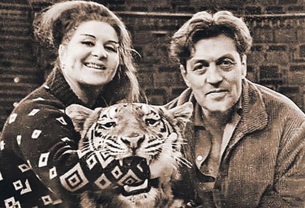 Маргарита Назарова с мужем