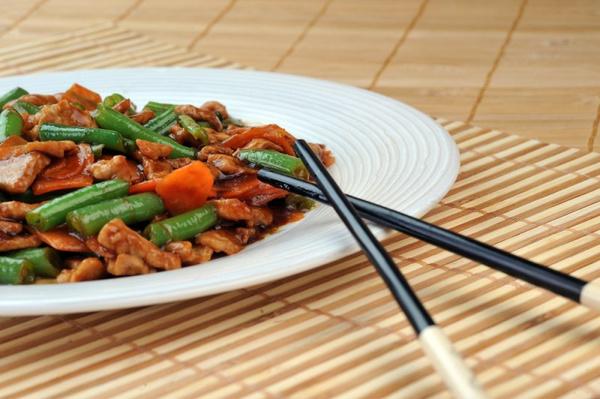 Блюда из китайской фасоли