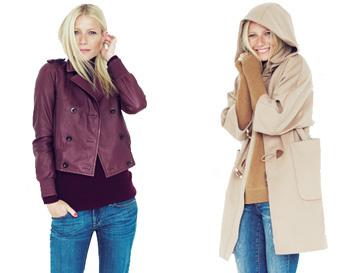 Гвинет Пэлтроу (Gwyneth Paltrow) в одежде из коллекции J. Crew сезона осень-зима 2012/13