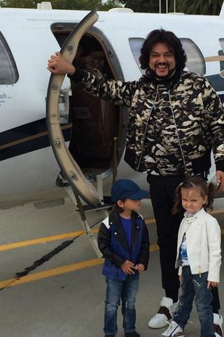 Киркоров с дочкой и сыном фото