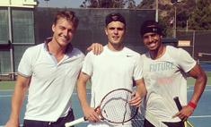 Воробьев научился играть в теннис за три дня