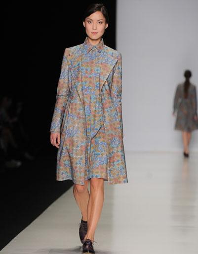 Показ коллекции Timur Kim осень-зима 2013/14 на Mercedes-Benz Fashion Week Russia