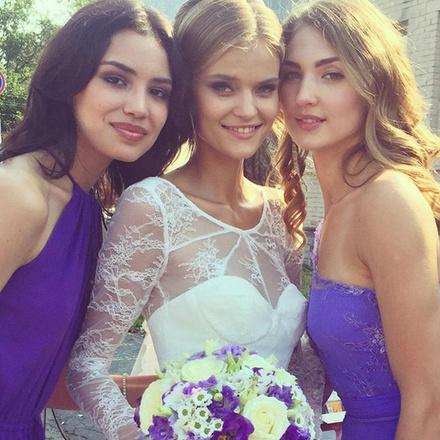 Российский ангел Victoria's Secret Екатерина Григорьева вышла замуж за военного