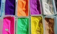 Как покрасить песок для творчества в домашних условиях?
