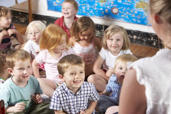 Как назвать группу детского сада