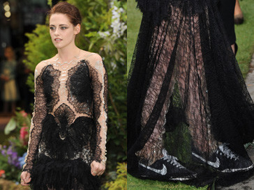 Кристен Стюарт (Kristen Stewart) надевает шпльки только ради своего стилиста. В остальное время актриса предпочитает кеды