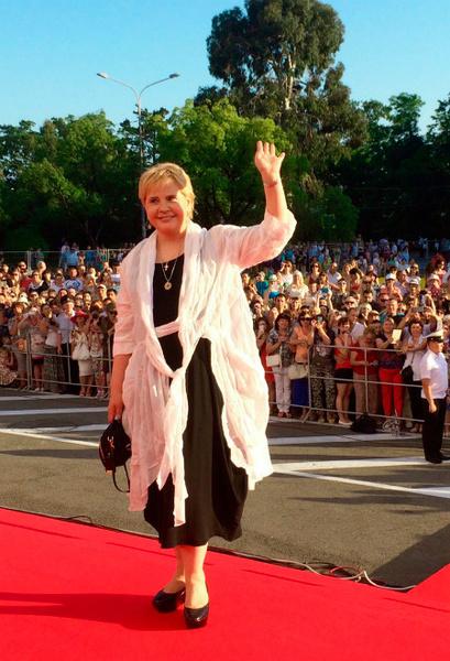 Татьяна Догилева на «Кинотавре-2015»