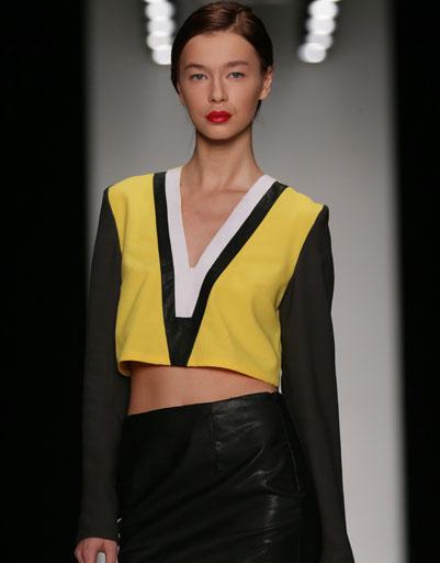 Финал конкурса молодых дизайнеров DHL на Mercedes-Benz Fashion Week Russia