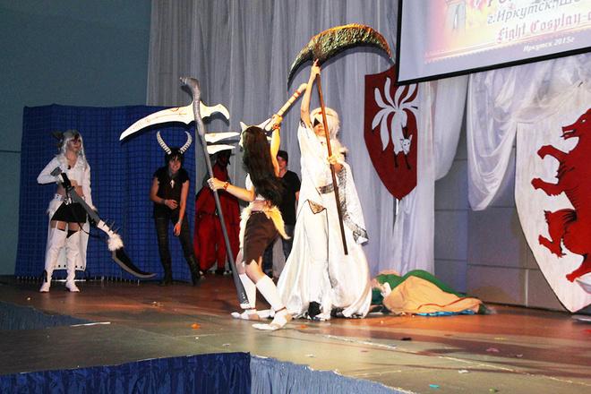 аниме-фестиваль «Fight Cosplay-con 2015» в Иркутске