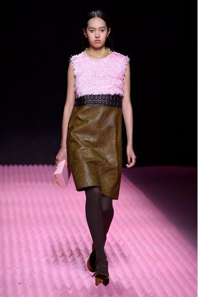 Показ Mary Katrantzou на Неделе моды в Лондоне | галерея [1] фото [10]