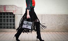 Меха, кружева, бахрома – что еще актуально для настоящей модницы