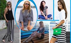 Полосатый рейс: ТОП-15 модных девушек в тельняшках