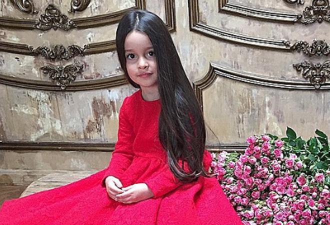 Дочь Бородиной Маруся: фото