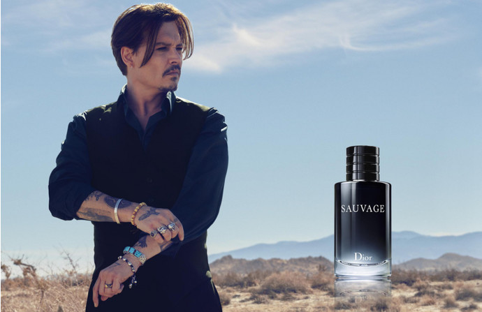 Джонни Депп - лицо Christian Dior
