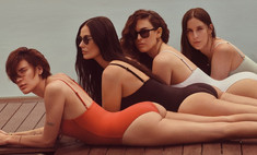 деми мур снялась рекламе купальников тремя дочерьми фото