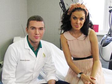 Таня Терешина и пластический хирург Андрей Искорнев