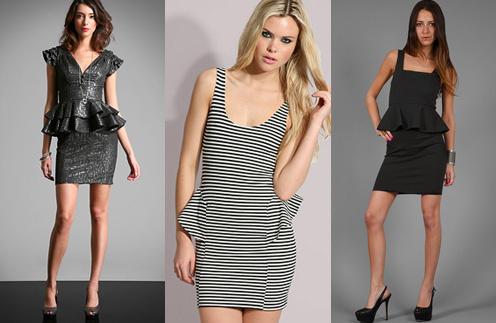 Платье с баской было на пике моды в 80-е, но и сейчас не потеряло свою актуальность