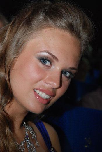 Виктория Щукина, победительница конкурса «Мисс Москва-2008»