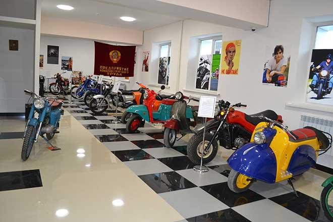 Музей мотоциклов открылся в Иркутске