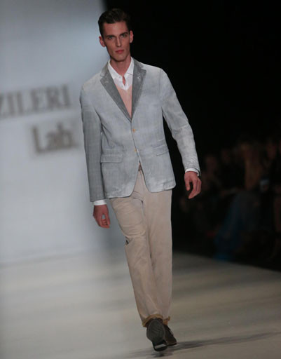 Mercedes-Benz Fashion Week Russia: коллекция PAL ZILERI весна-лето 2013