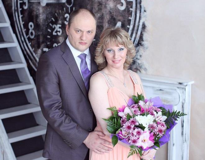 Легкоатлетка Юлия Печенкина с мужем Сергеем