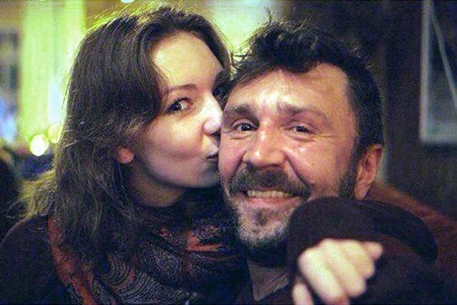 Сергей Шнуров, дочь Серафима, фото