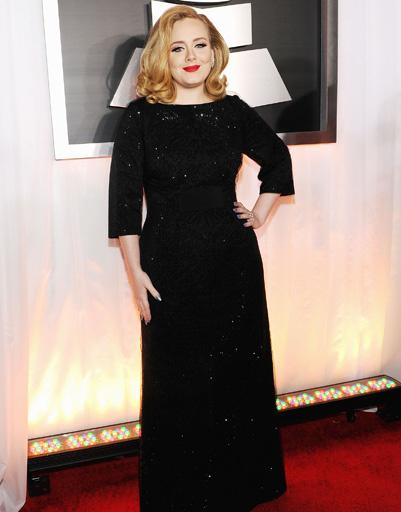 """Адель (Adele) на """"Грэмми""""-2012"""