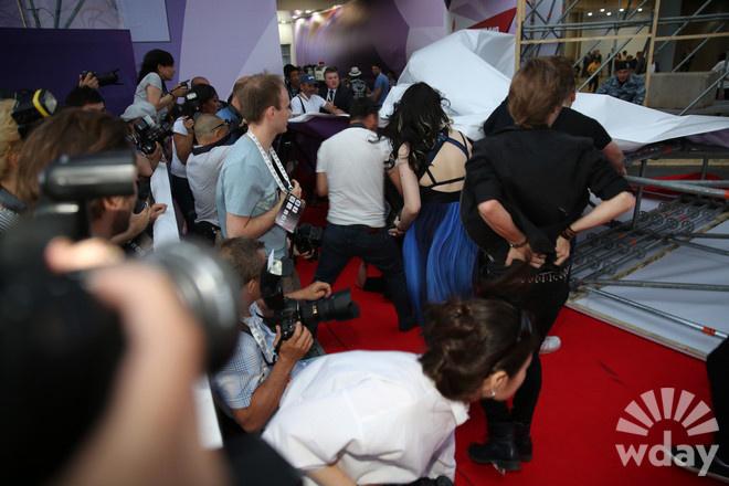 Никита Пресняков на премии МУЗ ТВ фото