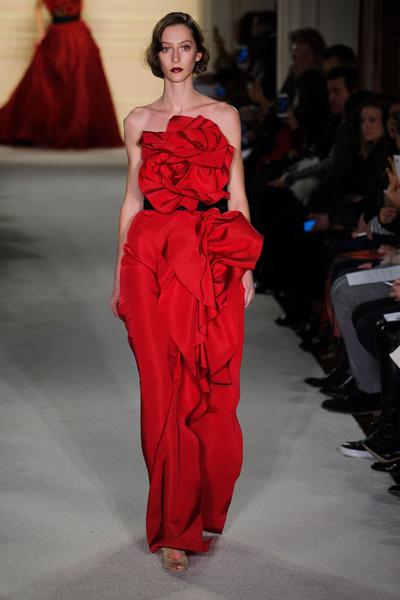 Показ Marchesa на Неделе моды в Нью-Йорке | галерея [1] фото [3]