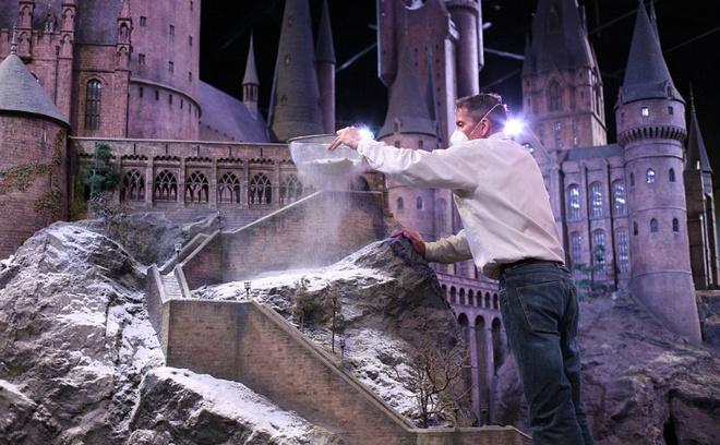 Декорации для фильма Гарри Поттер