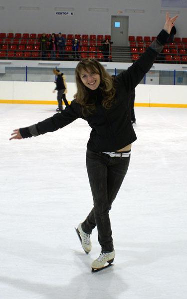где покататься на коньках