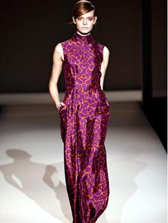 Alberta Feretti, осень-2011