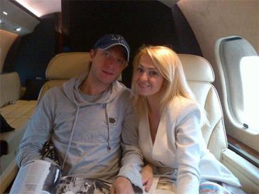 Яна Рудковская и Евгений Плющенко устроили себе каникулы.