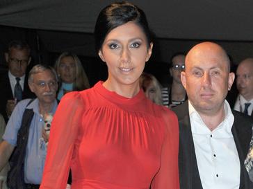 Екатерина Мцитуридзе появилась на открытие Венецианского фестиваля - 2012 в откровенном наряде