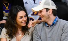 Мила Кунис и Эштон Кутчер планируют второго ребенка