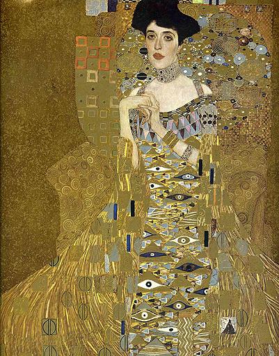 «Портрет Адели Блох-Бауэр», Густав Климт