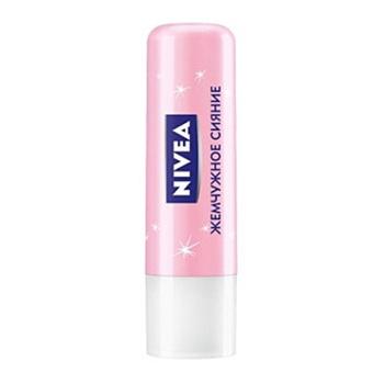 Бальзам для губ: Nivea, жемчужное сияние