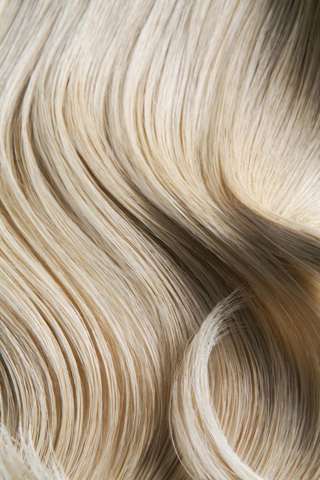 бежевый цвет волос