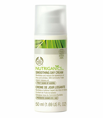 The Body Shop, Nutriganics Smoothing Day Cream