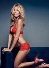 Хайди Клум снялась в новой рекламе собственной линии нижнего белья