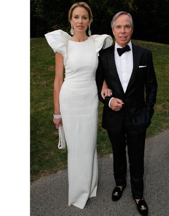 Томми Хилфигер (Tommy Hilfiger) с женой Ди Оклеппо (Dee Ocleppo)