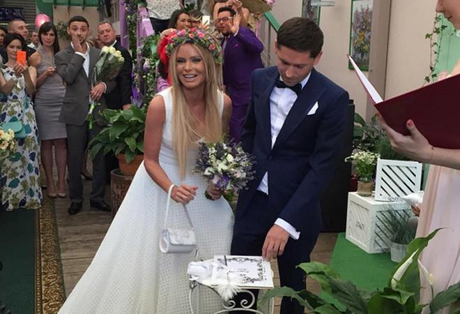 Дана Борисова свадьба фото