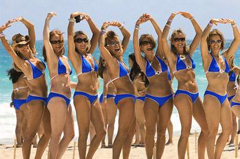 Впрочем, и сегодня спортивные и активные девушки готовы всецело развлекаться большой группой.